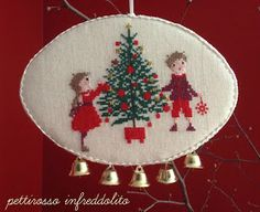 Christmas Embroidery, Christmas Cross, Christmas Inspiration, Cross Stitch Embroidery, Crafty, My Love, Holiday Decor, Anul Nou, Cards