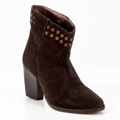 Studded boots $32.50