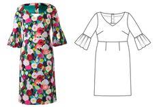 Burda Style plus size pattern May 2018