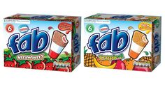 FoodBev.com | News | Nestlé adds limited tropical edition to Fab ice lolly range
