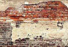 murando - Vlies Fototapete 150x105 cm - Vlies Tapete - Moderne Wanddeko - Design Tapete - Ziegel Ziegelstein f-A-0503-a-b: Amazon.de: Baumarkt