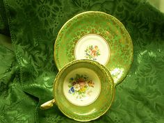 Vintage Aynsley Tea Cup and Saucer Bone China C818 | eBay