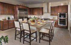 Azure New Home Plan in Summerlin: Delano by Lennar