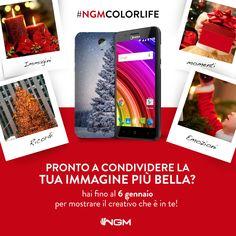 Continua l'iniziativa NgmColorLife: hai tempo fino al 6 Gennaio per mostrare il creativo che è in te. Condividi la tua foto o la tua dedica più bella su Instagram con l'hashtag #NgmColorLife, taggando @ngm_italia. Potrai essere il fortunato che vedrà la propria immagine trasformarsi nelle cover personalizzate ufficiali di #Ngm!