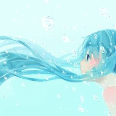 Find images and videos about girl, cute and art on We Heart It - the app to get lost in what you love. Manga Anime, Manga Art, Anime Art, Blue Anime, Girl In Water, Cute Mermaid, Anime Angel, Manga Pictures, Anime Comics
