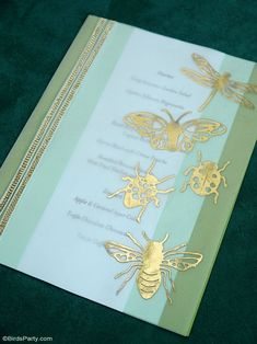 A Botanical Tablescape with 5 DIY Projects - easy crafts to help decorate a gorgeous Entomology inspired table for any party or celebration! #diy #carfts #diycrafts #tablescape #tabledecor #tabletop #tablesetting #insects #wedding #entomology #botanicaltable #dinnerparty #adulthalloween #halloweentable Festive Crafts, Easy Crafts, Straw Decorations, Botanical Decor, Bird Party, Adult Birthday Party, Party Food And Drinks, Halloween Table, Backdrops For Parties