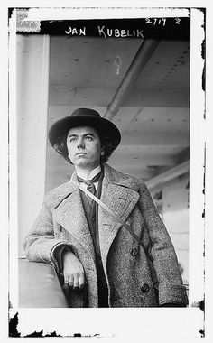 https://flic.kr/p/6jxsoL | Jan Kubelik  (LOC) | Bain News Service,, publisher.  Jan Kubelik  [between ca. 1910 and ca. 1915]  1 negative : glass ; 5 x 7 in. or smaller.  <b>Notes: </b> Title from data provided by the Bain News Service on the negative. Photo shows Czech violinist and composer Jan Kubelík (1880-1940). (Source: Flickr Commons project, 2010) Forms part of: George Grantham Bain Collection (Library of Congress).  <b>Format: </b> Glass negatives.  <b>Rights Info: </b> No known…
