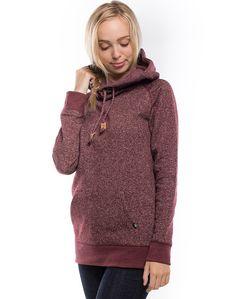 Banshee (Burgundy) | womens hoodies | tentree - official online shop