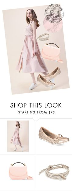 """""""dress"""" by masayuki4499 ❤ liked on Polyvore featuring Chicwish, Anne Klein, Cynthia Rowley and Chan Luu"""