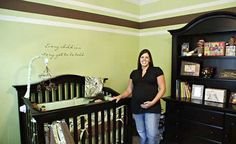 Green And Brown Nursery My Desired Colors If I Get A Chance To Decorate For