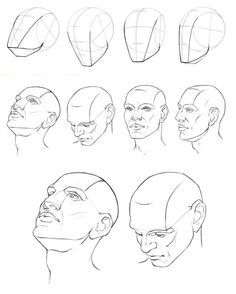 A face step by step drawing faces male face drawing drawing heads human . Male Face Drawing, Drawing Heads, Human Drawing, Body Drawing, Anatomy Drawing, Face Art, Face Anatomy, Drawing Artist, Drawing Lessons