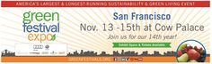 Angel Light Pictures' Antonio Saillant Will Be Brand Award Judge at 2015 San Francisco Green Festival Expo, 11/13-15