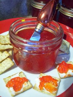 Red Pepper Jelly. Photo by * Pamela *