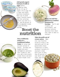 Simple Nutrition substitution Boosts!