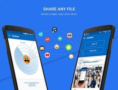 Share all File type at any place as per your need.