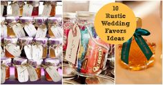 Planning the favors for your wedding can be a very fun and creative task. After blogging about thousands of real rustic weddings I feel like I have seen every type of rustic wedding favor out there. From personalized items to casual homemade cookies, I have seen it all. To help all you rustic brides find …