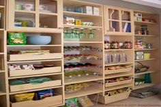 """very nice!  I like the extra glasses storage.  I love having more than one style of plates and glasses.  Also really like the cabinet doors with glass panes to see what's in them.  Since its a pantry, they don't have to be """"displayed"""" nicely, can just be stacked in rows.  Drawers...basket drawers...all very necessary.  I'd like to have a section of flatware drawers too."""