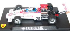 F1 Paper Model - 1972 French GP Lotus 72D Paper Car Free Template Download