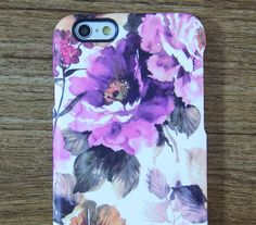 Abstract Watercolor Floral  iPhone 6/6s CaseiPhone by Nanosart