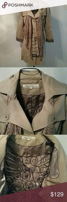 HP 9/29/16 Kenneth Cole Classic coat Beautiful & Classic Overcoat with inside top pocket. Just right for the upcoming fall weather. Kenneth Cole Jackets & Coats Trench Coats