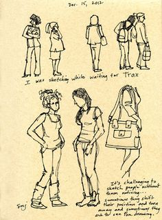 Susan N Jarvis - Fine Art: Tips About Sketching People