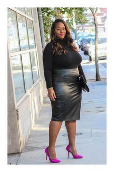 Plus Size Female Fancy Dress Plus Size Fashion For Women, Curvy Women Fashion, 70s Fashion, Fashion Outfits, Womens Fashion, All Black Urban Outfits, All Black Dresses, Curvy Outfits, Plus Size Outfits