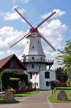 Jan Wind - Mühle Etelsen,Germany.I want to go see this place one day. Please check out my website Thanks.  www.photopix.co.nz