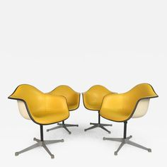 Charles Eames for Herman Miller Bucket Chairs