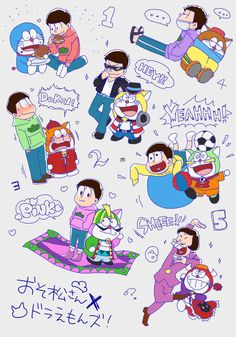 Doraemon-chan  Osomatsu-san