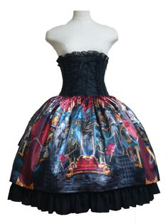 Atelier Pierrot Dark Castle Corset Skirt