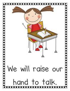 FREEBIES!   Classroom Rules and Misc. Freebies