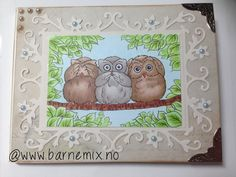 Barnemix - Uglekort med pengelomme fra Aurora Wings