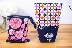 Stand Up Slide Down Pencil and Tool Pouch - Free DIY Tutorial and Pattern (She Sews! Pencil Case Pattern, Diy Pencil Case, Pouch Pattern, Pencil Pouch, Pencil Cases, Modern Quilt Patterns, Bag Patterns To Sew, Quilt Patterns Free, Easy Sewing Projects