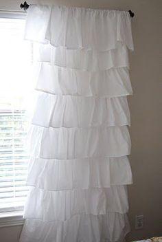 Como hacer cortinas con volados