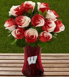 We're smelling roses over here! FTD has great UW Badger Roses for game day or any day for Badger fans