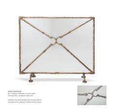 John Lyle Design - DANNA FIRE SCREEN