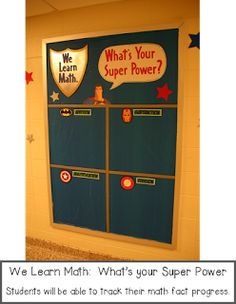 What's Your SuperPower.  Could use to name something special about each student.