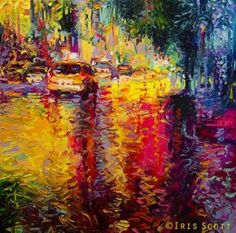 Taxi Jungle by Iris Scott
