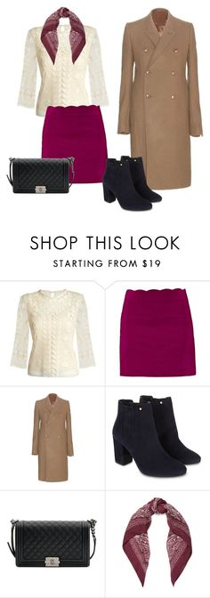 """""""elegance"""" by candynena228 ❤ liked on Polyvore featuring RED Valentino, Rick Owens, Monsoon, Chanel and Chan Luu"""