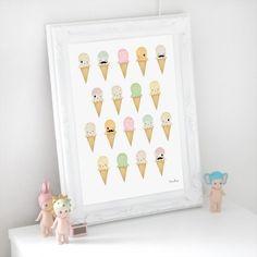 Ice creams via Dessin Design. Click on the image to see more!