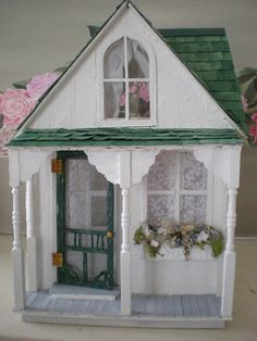Shabby Chic Dollhouse | Flickr - Photo Sharing!