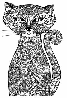 Get The Coloring Page Cat Image Source Pages For Adults