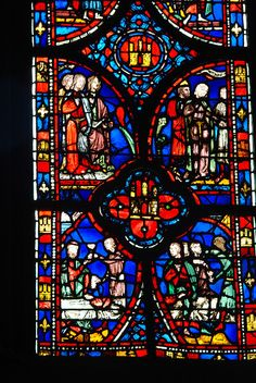 Sainte Chapelle Stained Glass | Stained Glass in Sainte-Chapelle | Flickr - Photo Sharing!