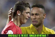 Who really is the best: Ronaldo or Neymar ?  World sport -soccer memes