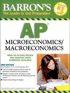 Solution manual for macroeconomics 7th edition by mankiw instructor barrons ap microeconomicsmacroeconomics fandeluxe Images