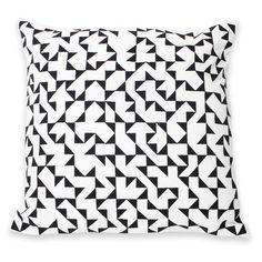 Albers V-1 Pillow Black//