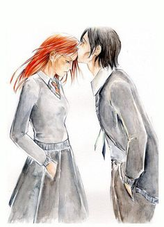 Severus Snape & Lily Evans...oh my bleeding, tattered feels...
