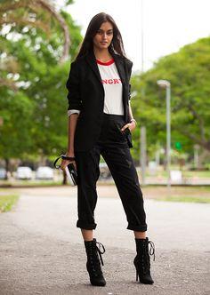 Gizele Oliveira Street Style