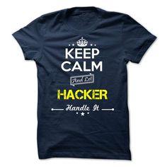 HACKER ᑎ‰ -Keep calmHACKERt shirts, tee shirts
