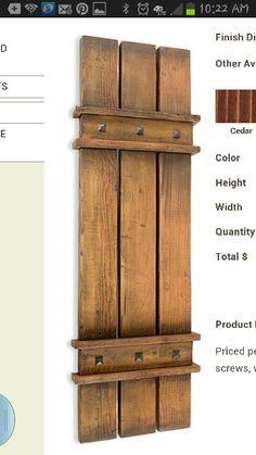 da Vinci Details Shutters - Rustic - Outdoor Products - Salt Lake City - by da Vinci Details Outdoor Shutters, Cedar Shutters, Diy Shutters, Exterior Shutters, Farmhouse Shutters, Rustic Shutters, Rustic Exterior, Sainte Sophie, Shutter Doors
